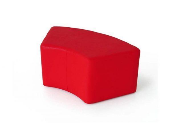 School furniture - Classroom chair: Softy Arc preschool stool