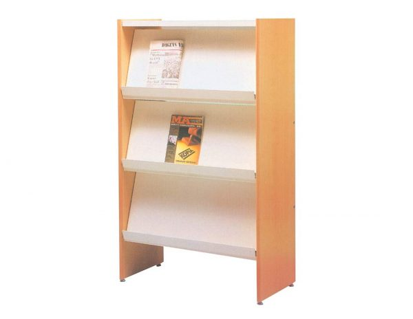 School furniture - Library Furniture: Media Magazine rack