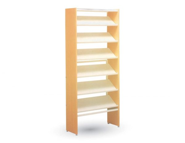 School furniture - Library Furniture: Single Sided Shelving