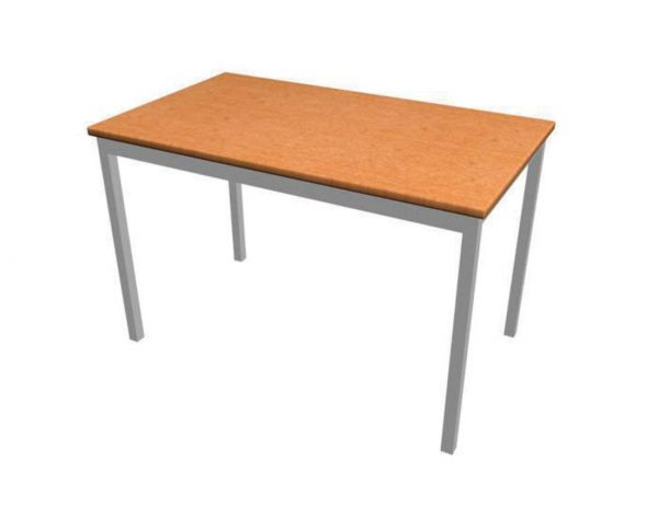 School furniture - Library Furniture: Study Tables – Rectangular