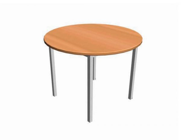 School furniture - Library Furniture: Study Tables – Round