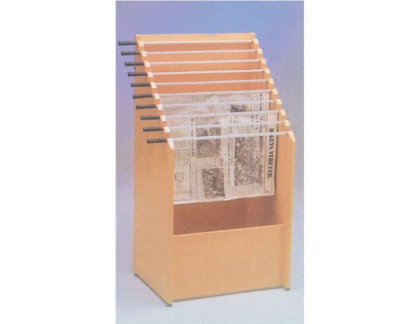 School furniture - Library Furniture: Newspaper Display Rack