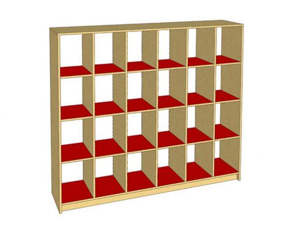 School furniture Shop In Islamabad- cubby-storage-twenty-four | Schoolfirst