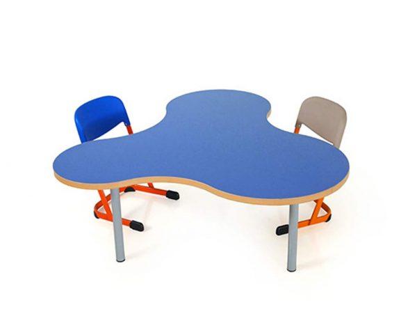 School furniture in Rawalpindi - Happy Table AMOEBA   Schoolfirst