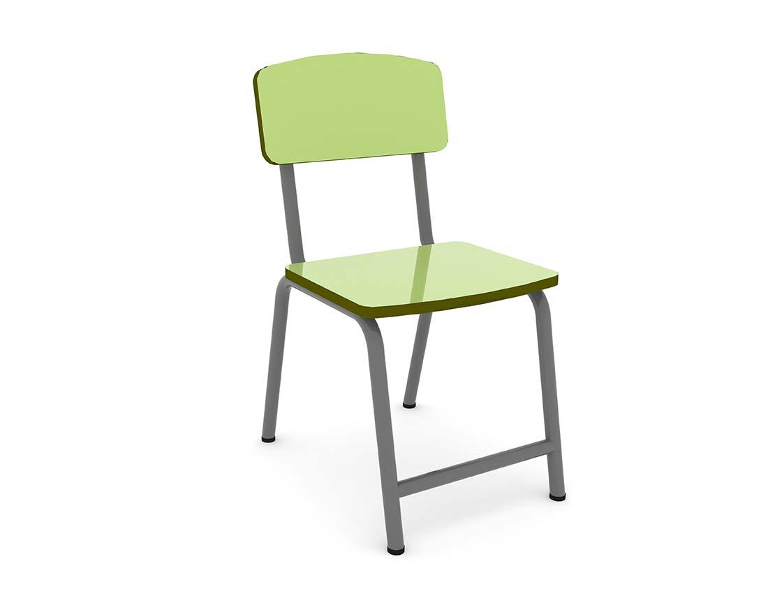 School furniture - Classroom chair : Happy chair Jelly Bean