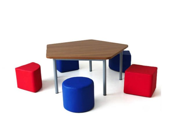 School furniture Shop in Islamabad - Happy Table PENTAGON | Schoolfirst