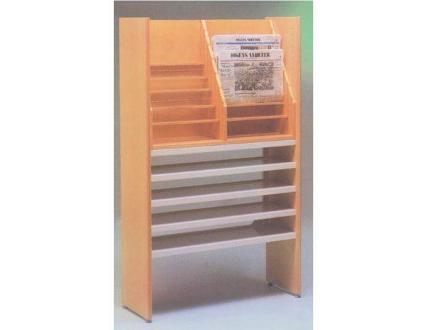 School furniture - Library Furniture: Newspaper Stand