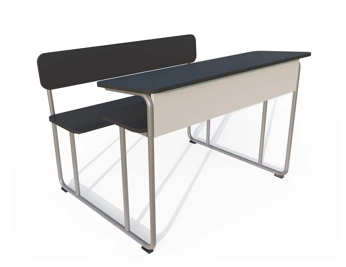 School furniture - Classroom chair & desk: Circa Bench